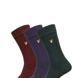 Lyle & Scott 3 Pack Vintage Sock nilkkasukat