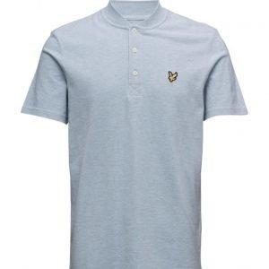 Lyle & Scott Bomber Collar Polo Shirt lyhythihainen pikeepaita