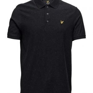 Lyle & Scott Brushed Flecked Polo Shirt lyhythihainen pikeepaita