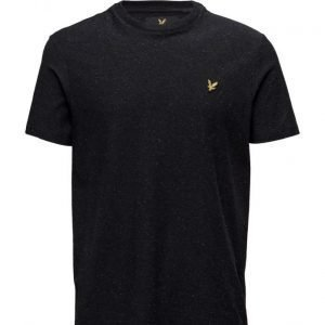 Lyle & Scott Brushed Flecked T-Shirt lyhythihainen t-paita