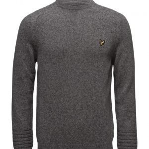 Lyle & Scott Crew Neck Links Detail 7gg Jumper pyöreäaukkoinen neule
