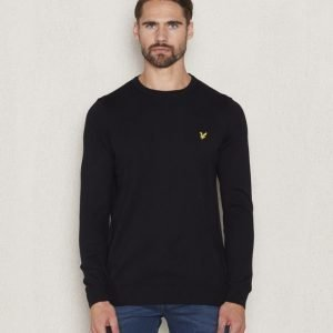 Lyle & Scott Crew Neck Merino 572 True Black