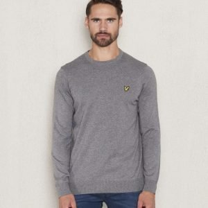 Lyle & Scott Crew Neck Merino T28 Mid Grey