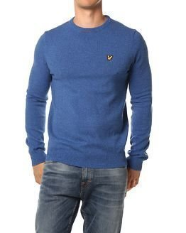 Lyle & Scott Crew Neck Mouline Jumper Shallow End