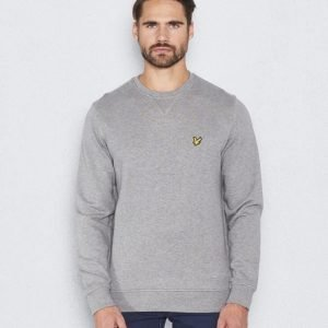 Lyle & Scott Crew Neck Sweatshirt D24 Light Grey