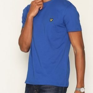 Lyle & Scott Crew Neck T-Shirt T-paita Blue