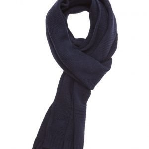Lyle & Scott Diamond Knitted Scarf huivi