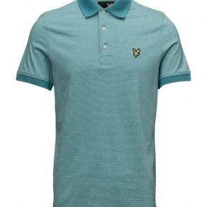 Lyle & Scott Fine Stripe Polo Shirt pikeepaita