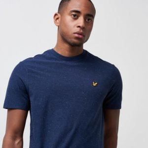 Lyle & Scott Flecked T-Shirt Z99 Navy