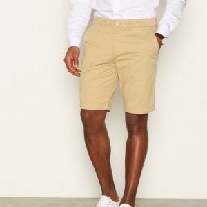 Lyle & Scott Garment Dye Shorts Shortsit Stone