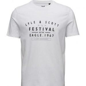 Lyle & Scott Graphic T-Shirt lyhythihainen t-paita