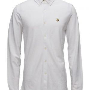 Lyle & Scott Jersey Pique Shirt