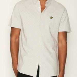 Lyle & Scott Jersey Shirt Kauluspaita Light Grey