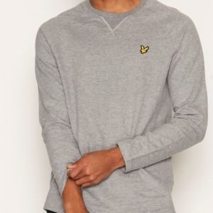 Lyle & Scott Lightweight Crew Neck Sweatshirt Pusero Grey