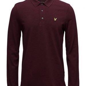 Lyle & Scott Ls Plain Polo Shirt pitkähihainen pikeepaita