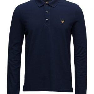 Lyle & Scott Ls Polo Shirt pitkähihainen pikeepaita