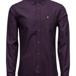 Lyle & Scott Mouline Gingham Shirt