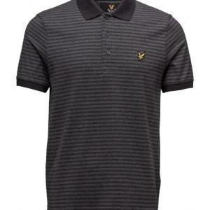 Lyle & Scott Mouline Stripe Polo Shirt lyhythihainen pikeepaita