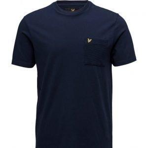 Lyle & Scott Ottoman Stitch Pocket T-Shirt lyhythihainen t-paita