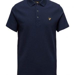 Lyle & Scott Ottoman Stitch Polo Shirt lyhythihainen pikeepaita