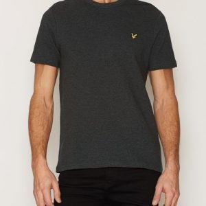 Lyle & Scott Ottoman Stitch T-shirt T-paita Charcoal