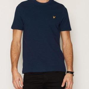 Lyle & Scott Ottoman Stitch T-shirt T-paita Navy