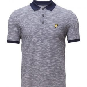 Lyle & Scott Oxford Slub Polo Shirt pikeepaita