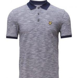 Lyle & Scott Oxford Slub Polo Shirt pikeepaita