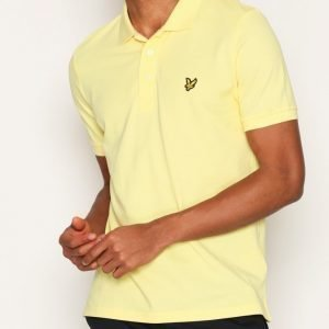 Lyle & Scott Polo Shirt Kauluspaita Yellow