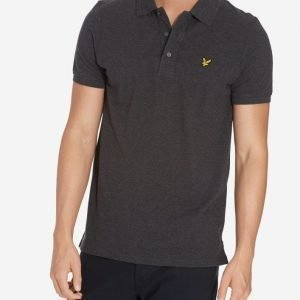 Lyle & Scott Polo Shirt Pikeepaita Charcoal