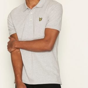 Lyle & Scott Polo Shirt Pikeepaita Light Grey