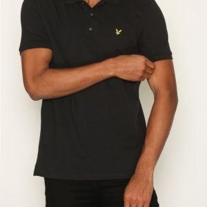 Lyle & Scott Polo Shirt Pikeepaita True Black