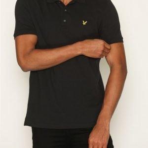 Lyle & Scott Polo Shirt Pikeepaita True Black