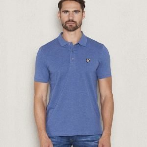 Lyle & Scott Polo Shirt Z55 Indigo Marl