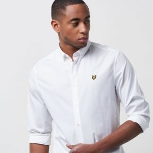 Lyle & Scott Poplin Shirt 626 White