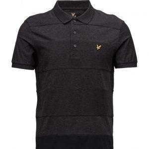 Lyle & Scott Reverse Stripe Polo Shirt lyhythihainen pikeepaita