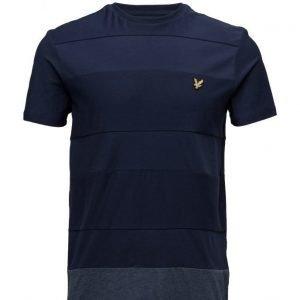 Lyle & Scott Reverse Stripe T-Shirt lyhythihainen t-paita