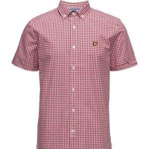 Lyle & Scott Ss Gingham Check Shirt lyhythihainen paita