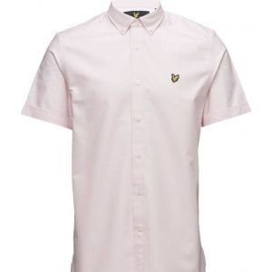 Lyle & Scott Ss Plain Oxford Shirt lyhythihainen paita