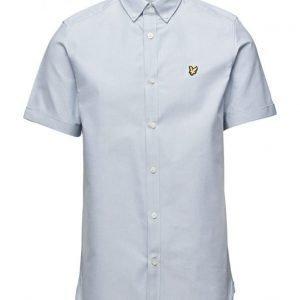 Lyle & Scott Ss Plain Oxford Shirt lyhythihainen paita