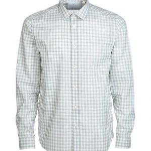 Lyle & Scott Textured Gingham Poplin Kauluspaita