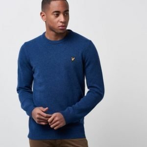 Lyle & Scott The Crewneck Lamswool Z 175 navy Marl