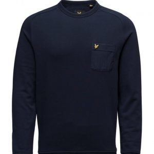 Lyle & Scott Woven Pocket Crew Neck Sweatshirt svetari