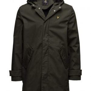 Lyle & Scott Zip Front Hooded Mac parkatakki