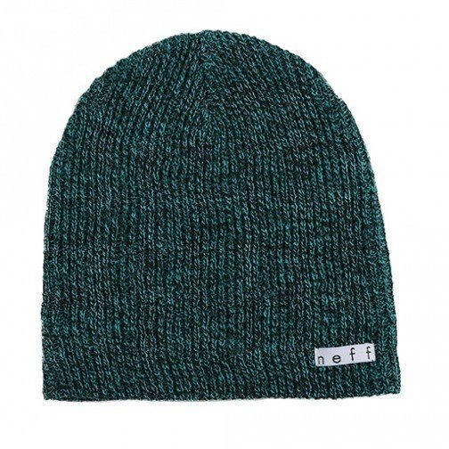 Mössa Neff beanie Daily Heather Beanie | Black/Green