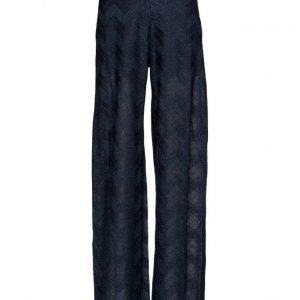 M Missoni Jersey Trousers leveälahkeiset housut