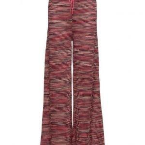 M Missoni Kd0kf01n22s leveälahkeiset housut