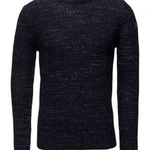 MCS Blouson-Jacket-Mmm pyöreäaukkoinen neule