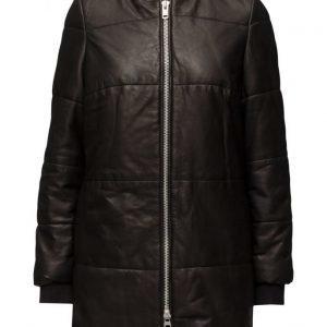 MDK / Munderingskompagniet Alice Long Leather Jacket päällystakki
