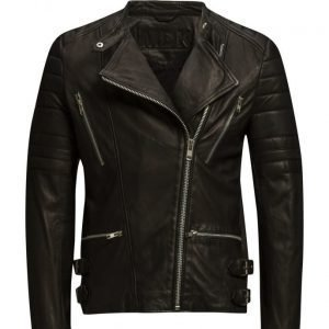 MDK / Munderingskompagniet Billy Leather Jacket (Black) nahkatakki